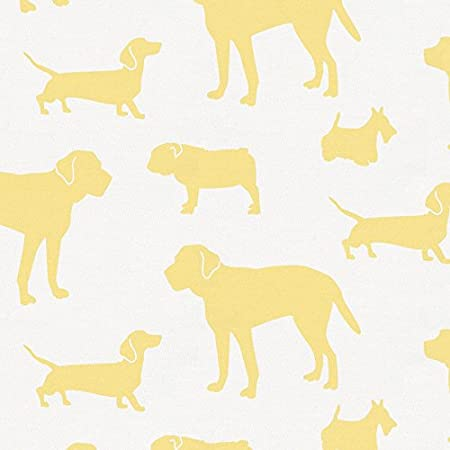 Organic 100/% Cotton Crib Skirt Made in The USA Carousel Designs Cloud Gray Dogs Crib Skirt 17-Inch Gathered 17-Inch Length