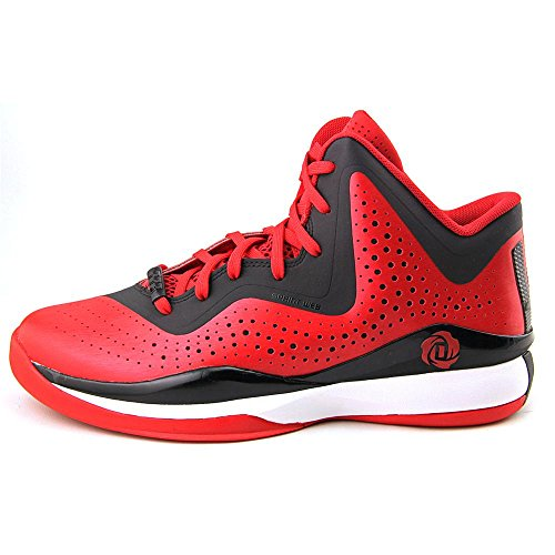 Adidas Rose 773Chaussures de Basketball pour Homme III - - Scarlet-Black-White, 42 2/3