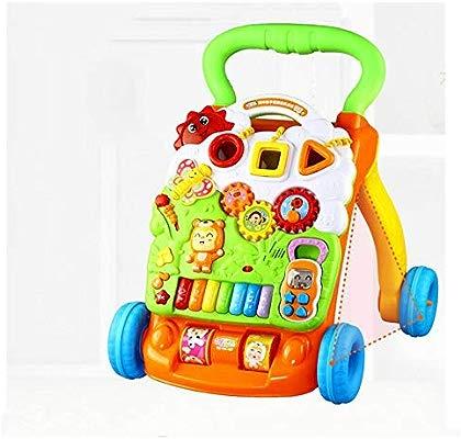 HongTeng Caminador de Trolley para bebés, Juguete Multiusos ...