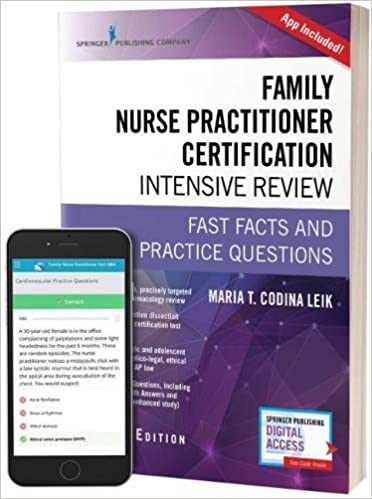 Family nurse practitioner certification intensive review third family nurse practitioner certification intensive review third edition fast facts and practice questions book free app 3rd edition fandeluxe Gallery