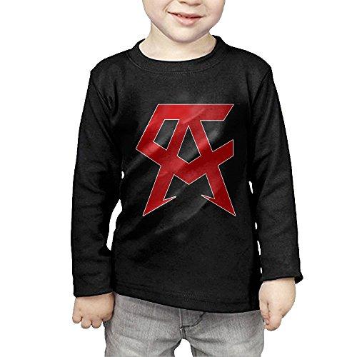 Canelo Alvarez Gold Logo Little Kids Long Sleeve Tshirt For Kids