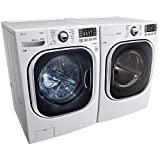 LG Turbo Series Ultra-Capacity Washer & Electric Dryer Combo Set Deal