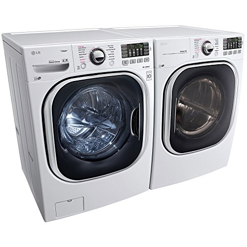 WM4370HWA+DLEX4370W-Turbo Series Ultra-Capacity Laundry System with SteamPURE WHITE COLOR