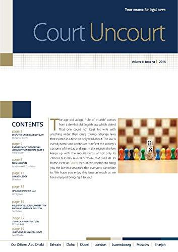 court uncourt sta law firm volume ii issue iii