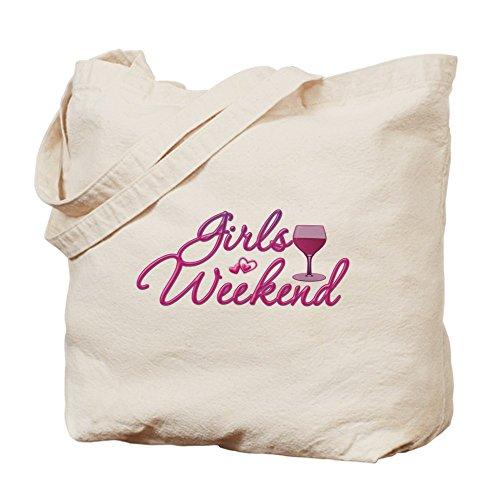 CafePress–niñas Fin de Semana Salida Nocturna Bachelorette Party Tote Ba–Gamuza de bolsa de lona bolsa, bolsa de la compra