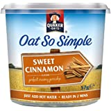 Quaker Oats Oat So Simple Sweet Cinnamon Flavour 57 g (Pack of 8)