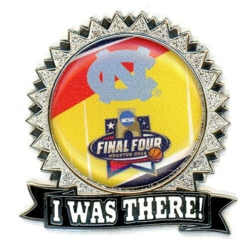 North Carolina Tar Heels Lapel Pins - North Carolina Tar Heels Lapel Pin I Was There Final Four Design NCAA Licensed