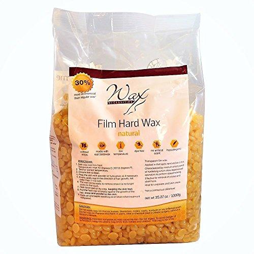 Wax Necessities Hard Wax Beads Natural 35.27 Ounces / 2.2 Pound