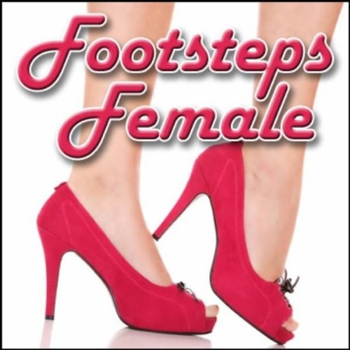 Footsteps, Indoor - Marble Floor: Women's Medium High Heel Shoes: Various Scuffs and Stationary Movements, Left Channel Close Perspective (Channel Stationary)