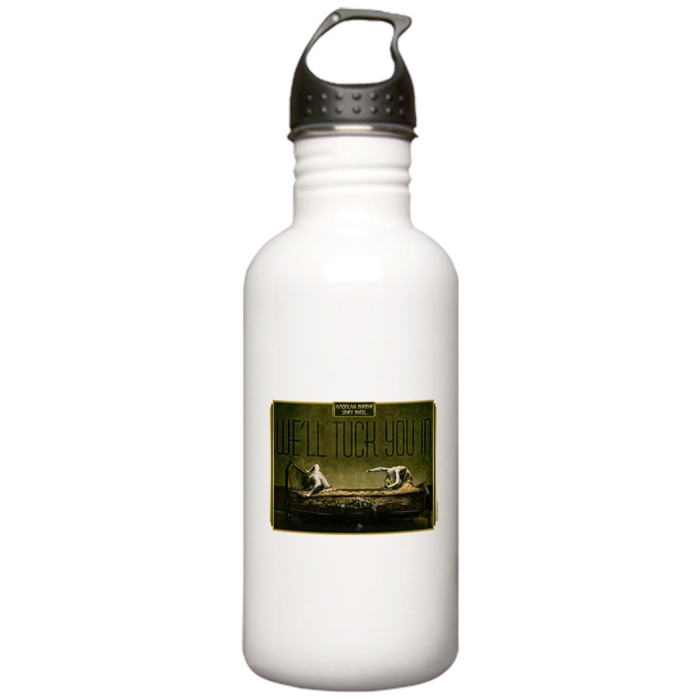CafePress - AHS Hotel We'll Tuck Y Stainless Water Bottle 1 - Stainless Steel Water Bottle, 1.0L Sports Bottle