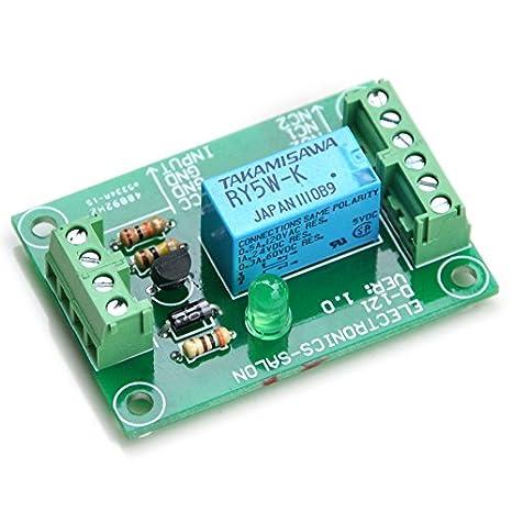 electronics salon dpdt signal relay module, 5vdc, ry5w k relay has assembled Circuit Diagram Symbols