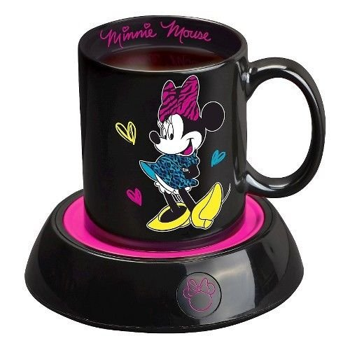 Disney Minnie Mouse Mug Warmer with 10 oz. Cup (Minnie Mouse Cup Warmer compare prices)