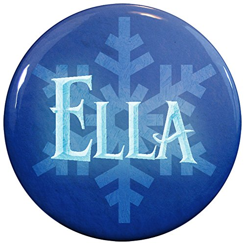 Buttonsmith® Ella Winter Ice Name Tag