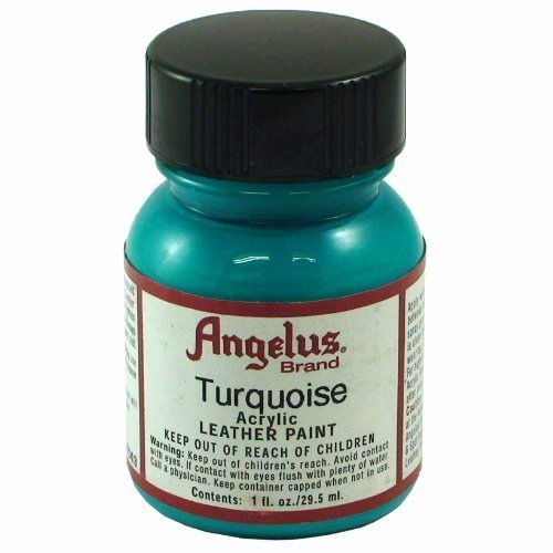 Springfield Leather Company's Turquoise Acrylic Leather Paint by