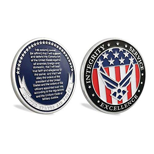 US Air Force Oath of Enlistment Challenge Coin for Airman