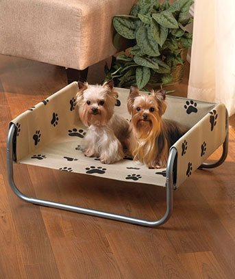 Paw Print Pet Dog Cot