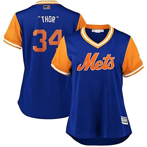 Majestic Majestic Noah Syndergaard Thor New XXL York Women's York Mets Women's Royal/Orange 2018 Players' Weekend Cool Base Jersey スポーツ用品【並行輸入品】 XXL B07GNRRC2L, 結姫(musubime):aa70eaed --- cgt-tbc.fr