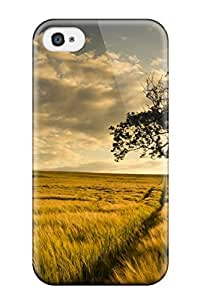 Fashionable WHSYDkz1055zkRoR Iphone 4/4s Case Cover For Dark Tree Big Field Digital Protective Case