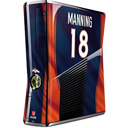 NFL Denver Broncos Xbox 360 Slim (2010) Skin - Peyton Manning -Denver Broncos Vinyl Decal Skin For Your