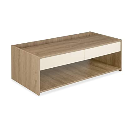 home by Nilkamal Sentil Coffee Table (Melamine Finish, Brown