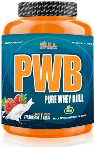 Bull Sport Nutrition PWB Pure Whey Bull Proteínas de Suero de Leche - 2300 gr
