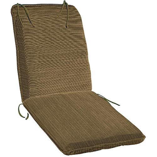 Amazon.com: Oxford Jardín chaise longue Cojín, Hunter Green ...