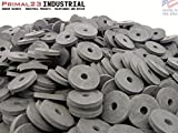 (1500) Heavy Duty Abrasion Resistant Rubber Washers - 1'' OD X 1/4'' ID X 1/8'' Inch SBR Rubber Washers 70 Duro