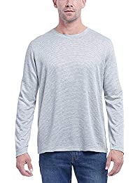 Mens Long Sleeve Slub Tee