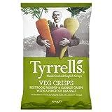 Tyrrells Veg Crisps Beetroot, Parsnip & Carrot 40g