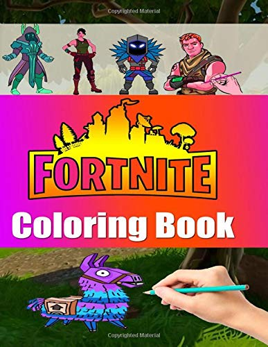 Fortnite Coloring Book Best Coloring Pages Fortnite Battle Royale Characters For Kids And Adults Amazing Drawings Characters Weapons Other Unofficial Book Jones Color 9781650725239 Amazon Com Books