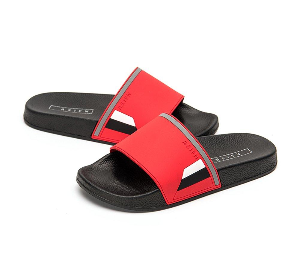 b751b7ea0b6f6 Galleon - Men And Women Shower Slide Sandal Non-Slip Molded Footbed Bathroom  Slippers Athletic Beach Sandals Outdoor