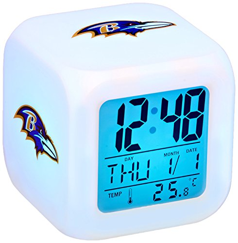Baltimore Ravens Cube Clock