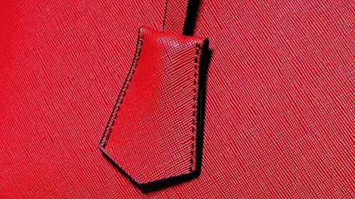 coloré Main fourre Mode pour à Tout à Main pour élégant Femme Sac Cuir Main Sac à Femmes Dames Taille en Main Noir Sac Sac PU Sac Sac Taille Unique Rouge bandoulière à à pour fqRn1xd
