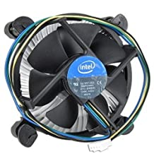 "Intel E41997-002 Socket 1155/1156 Aluminum Heat Sink & 3.5"" Fan W/4-Pin Connector For Core I7 I5 & I3"