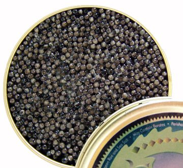 White Sturgeon Caviar - American White Sturgeon Caviar (1 oz)
