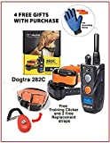 Dogtra 282C 2-Dog System with 2 Free Straps, SPC cliecker System and pet Grooming Glove