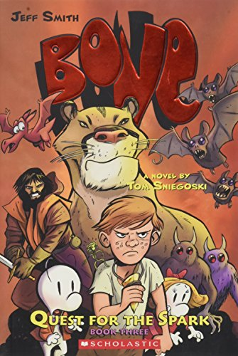 New 3 Bone (Bone: Quest for the Spark #3)