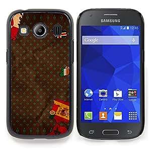 """Qstar Arte & diseño plástico duro Fundas Cover Cubre Hard Case Cover para Samsung Galaxy Ace Style LTE/ G357 (Bandera Europa España Portugal Islandia Mapa"""")"""
