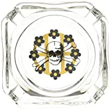 HUF Men's Ashtray, Glass, One Size