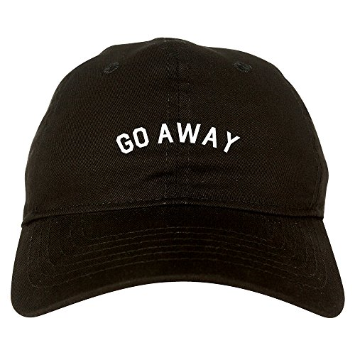 go away mens dad hat baseball cap