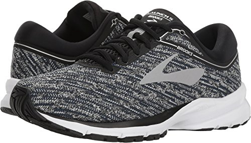 Brooks Women's Launch 5 Black/Ebony/Primer Grey 9.5 B US