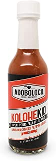 product image for Adoboloco Hot Sauce Kolohekid Hawaiian Spicy Sauce - Hot Ghost Pepper Chili Sauce - Featured on Hot Ones!