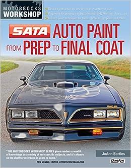 576e7989 SATA Auto Paint from Prep to Final Coat (Motorbooks Workshop): JoAnn  Bortles: 9780760342787: Amazon.com: Books