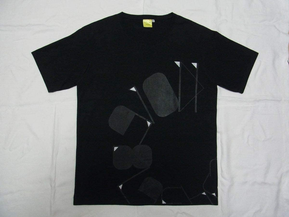 Perfume パフューム LIVE@東京ドーム1 2 3 4 5 6 7 8 9 10 11 スタッフ Tシャツ sizeXL 黒 古着 グッズ