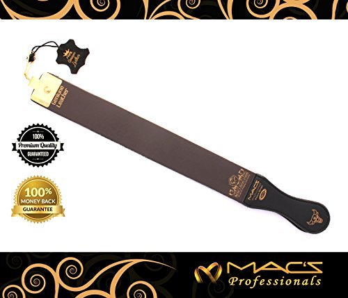 Professional Quality Sharpening Strop Made of Real Leather 2' Wide And 22' long Macs-2012