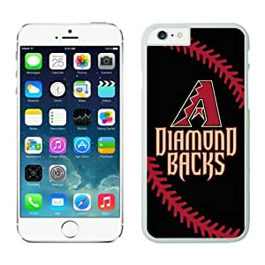 Popular iPhone 6s Plus Case,Arizona Diamon dbacks Customized iPhone 6S Plus 5.5 Inch TPU Case 1 White