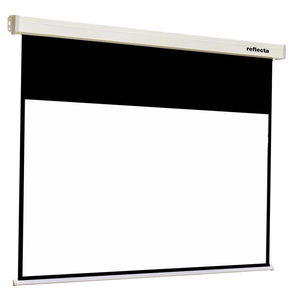 Reflecta CrystalLine Motor 16:9 Negro, Color blanco pantalla de ...