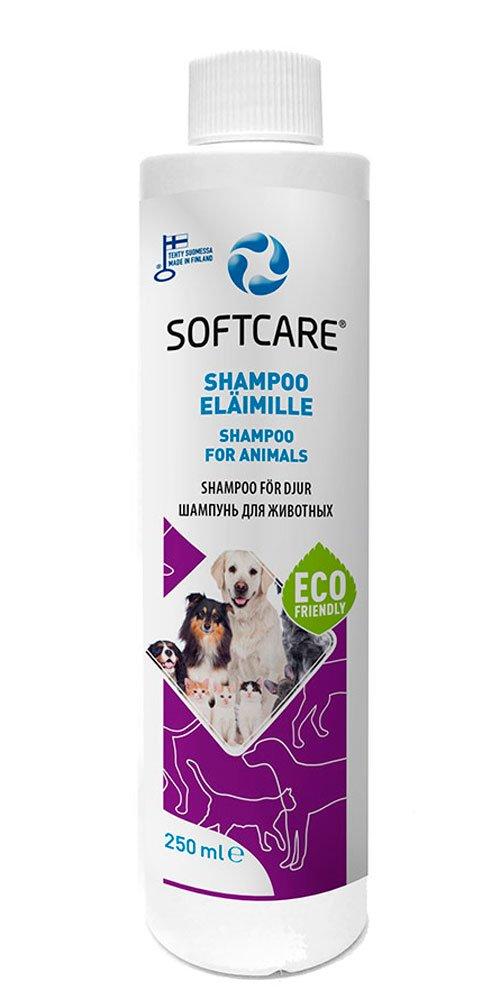 M-SOLUCIONES - Softcare Champú para Mascotas. Sin Sulfatos. Sin Fragancias y Colorantes. Especialmente para Perros y Gatos - 250ml.