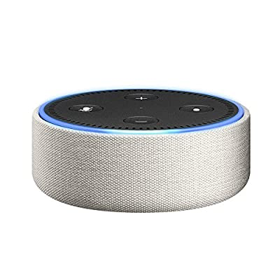 Amazon Echo Dot Case (fits Echo Dot 2nd Generation only) - Sandstone Fabric