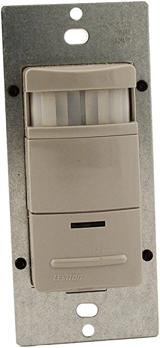 ODS10-IDW Leviton Infrared Wall Switch Occupancy Sensor